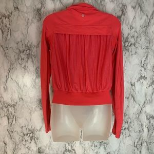 Lululemon Tadasana Zip Up Jacket Hot Pink Size 4